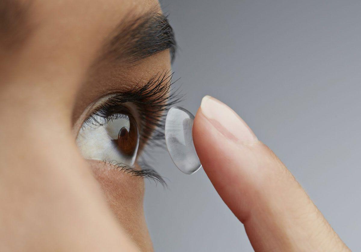 Возврат контактных линз