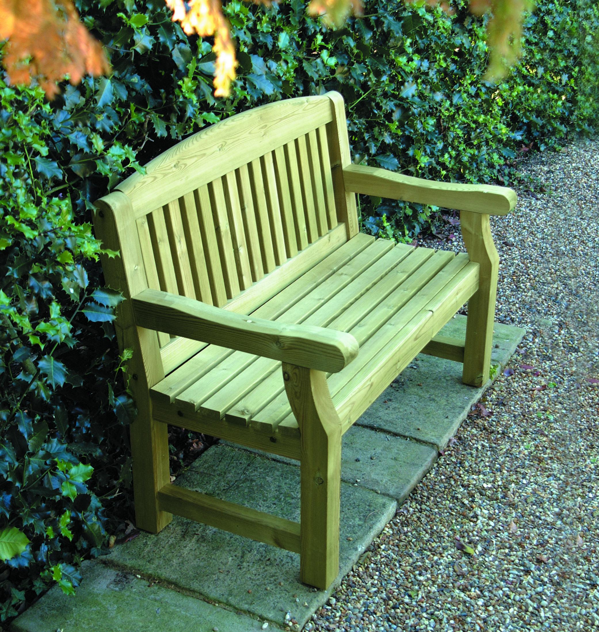 Возврат садовой скамейки